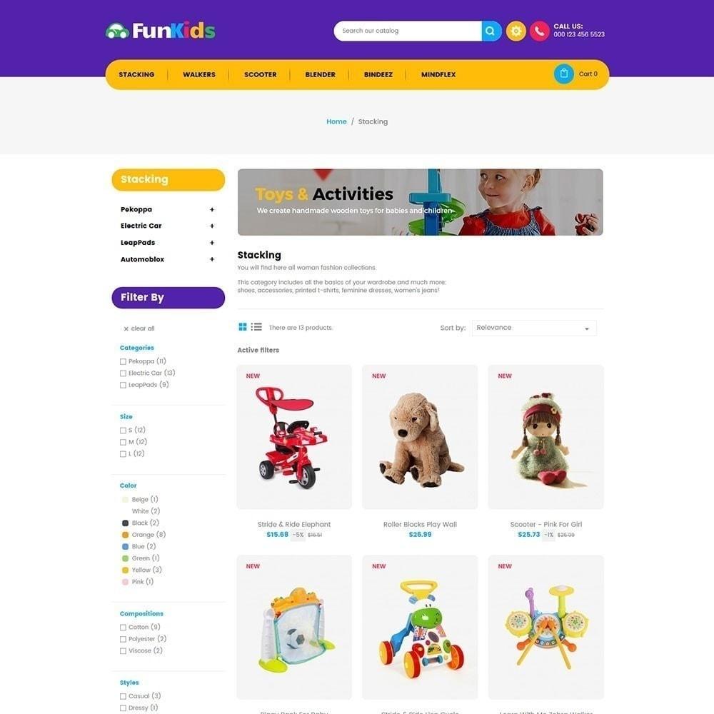 theme - Дети и Игрушки - Fun Kids - Магазин игрушек - 4
