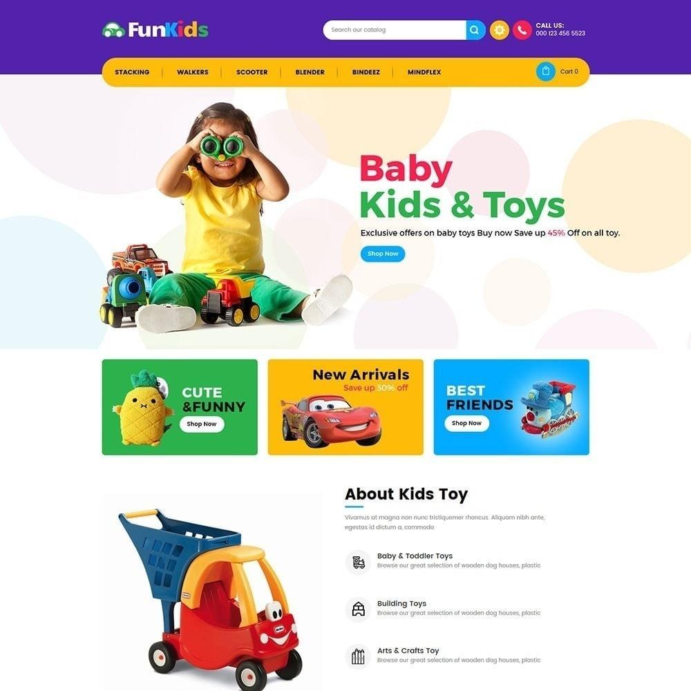 theme - Дети и Игрушки - Fun Kids - Магазин игрушек - 6