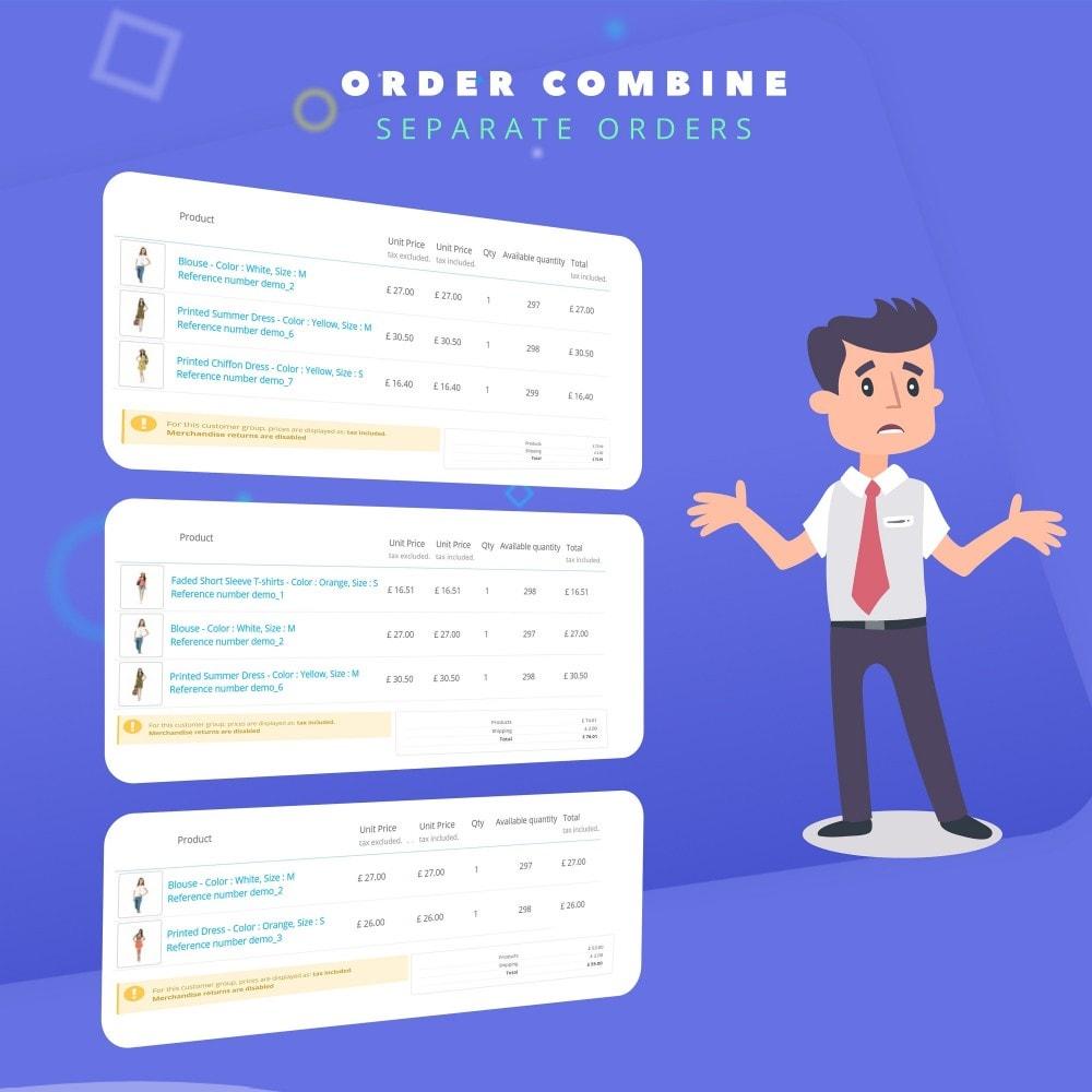 module - Управление заказами - Fast Combine Order / Invoice - 6