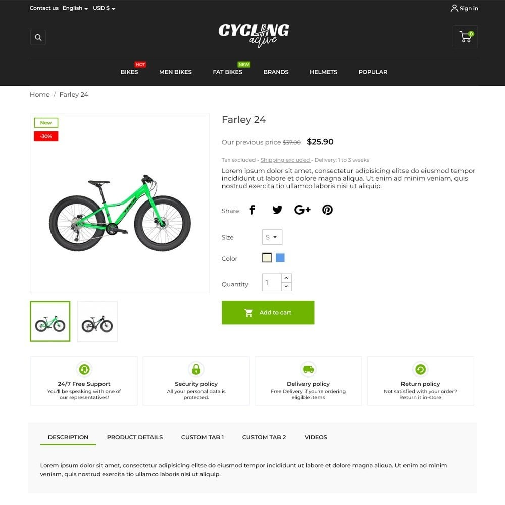 theme - Sports, Activities & Travel - Cycling Active - 5