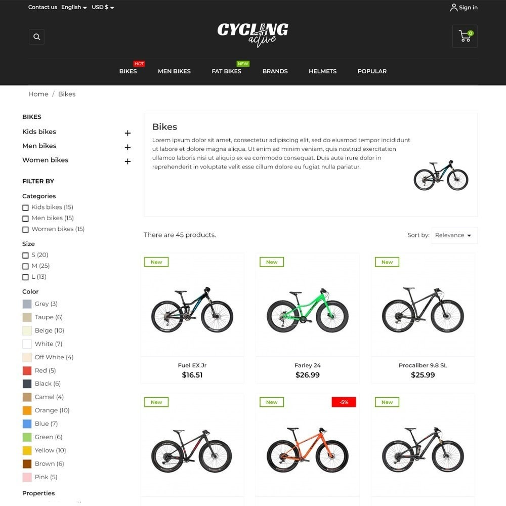 theme - Sports, Activities & Travel - Cycling Active - 6
