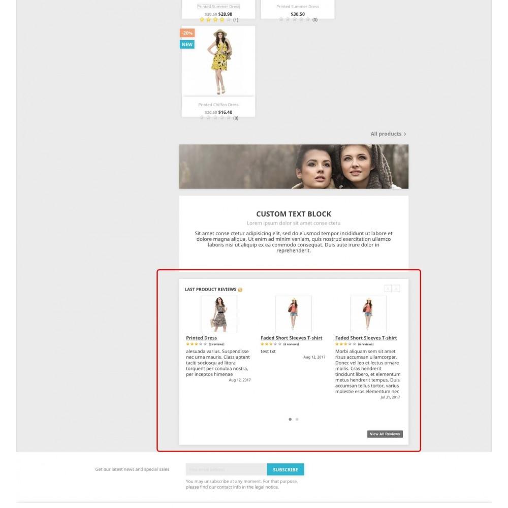 module - Comentarios de clientes - Product reviews simple + - 7