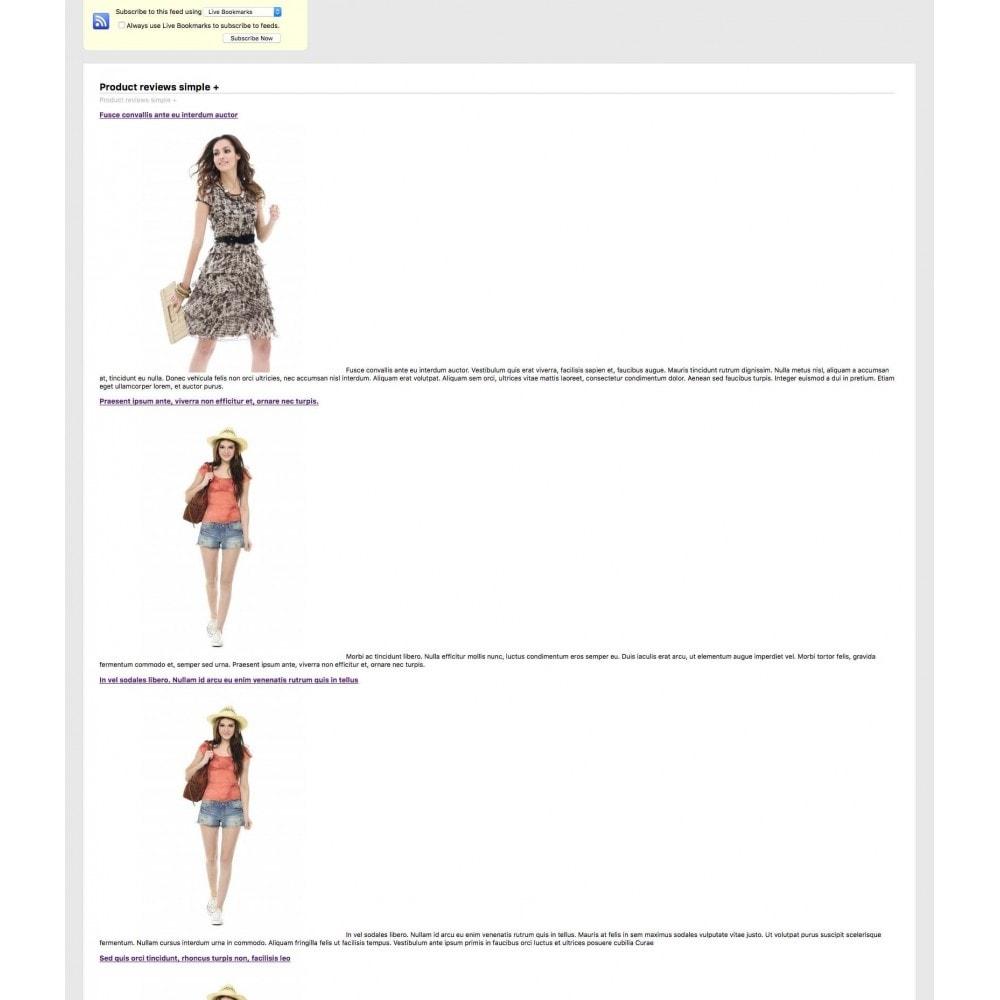 module - Comentarios de clientes - Product reviews simple + - 13