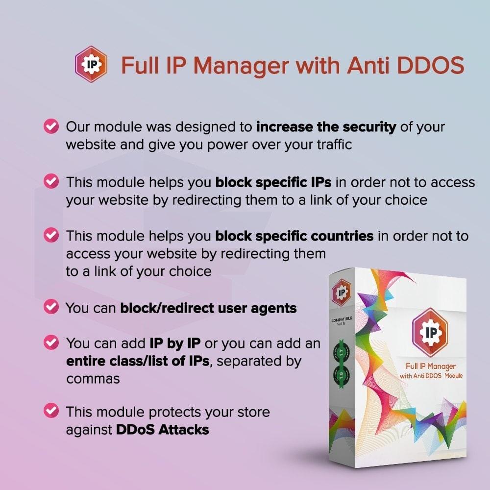 module - Security & Access - Gestore IP completo con Anti DDOS - 1
