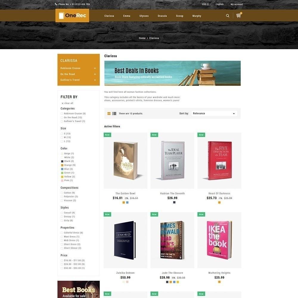 theme - Kultura & Sztuka - Jeden Rec Book Store - 5