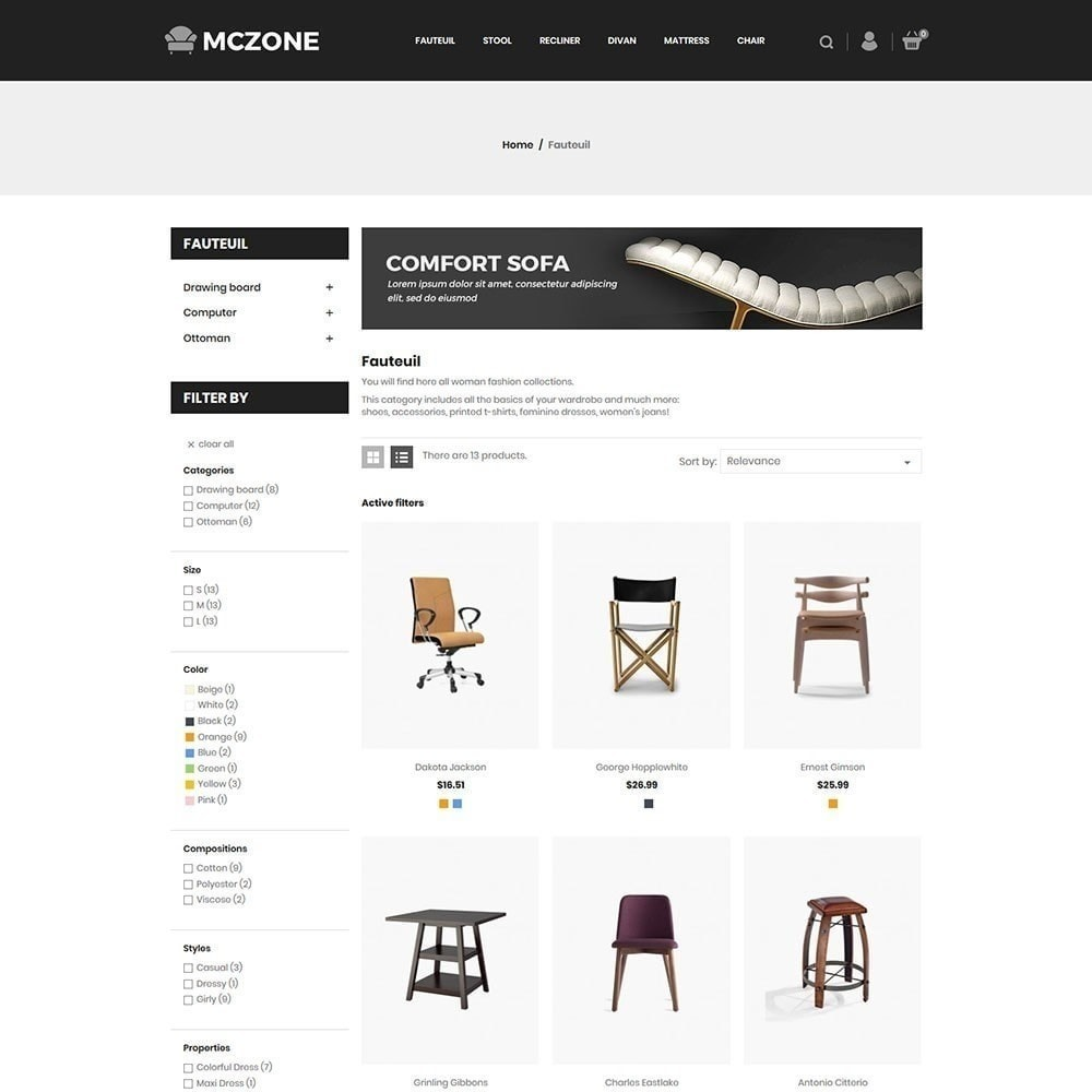 theme - Kunst & Cultuur - MacZone Furniture Store - 4