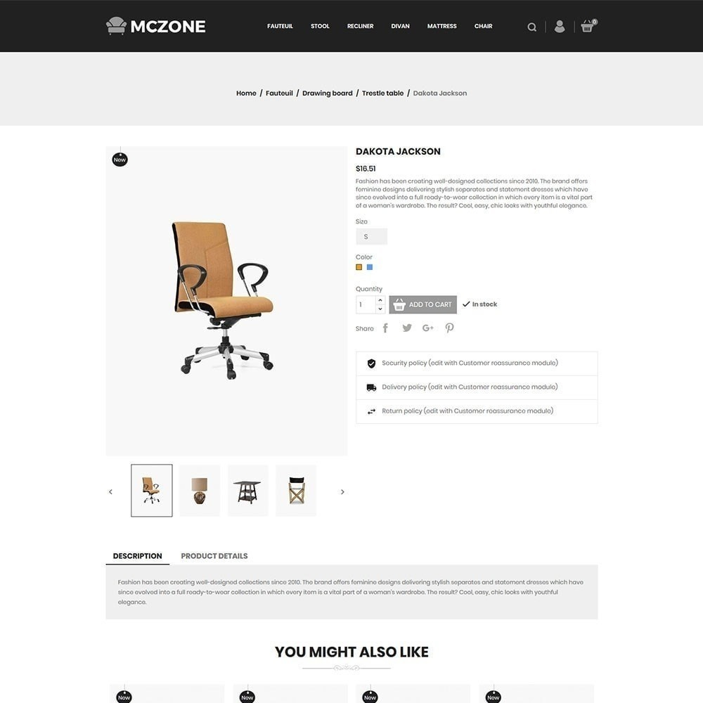 theme - Kunst & Cultuur - MacZone Furniture Store - 6