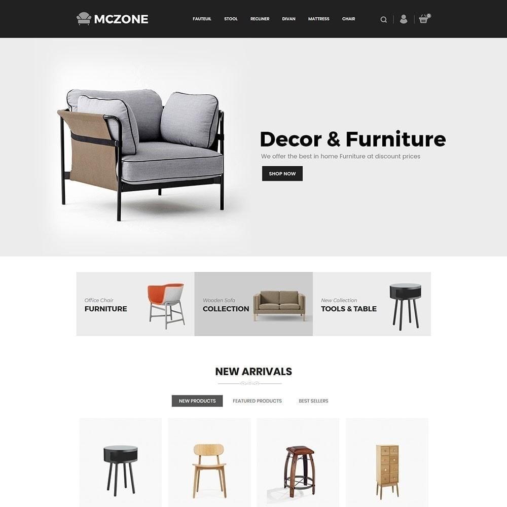 theme - Arte e Cultura - Loja de Móveis MacZone - 3