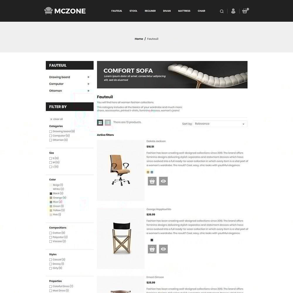 theme - Arte e Cultura - Loja de Móveis MacZone - 5