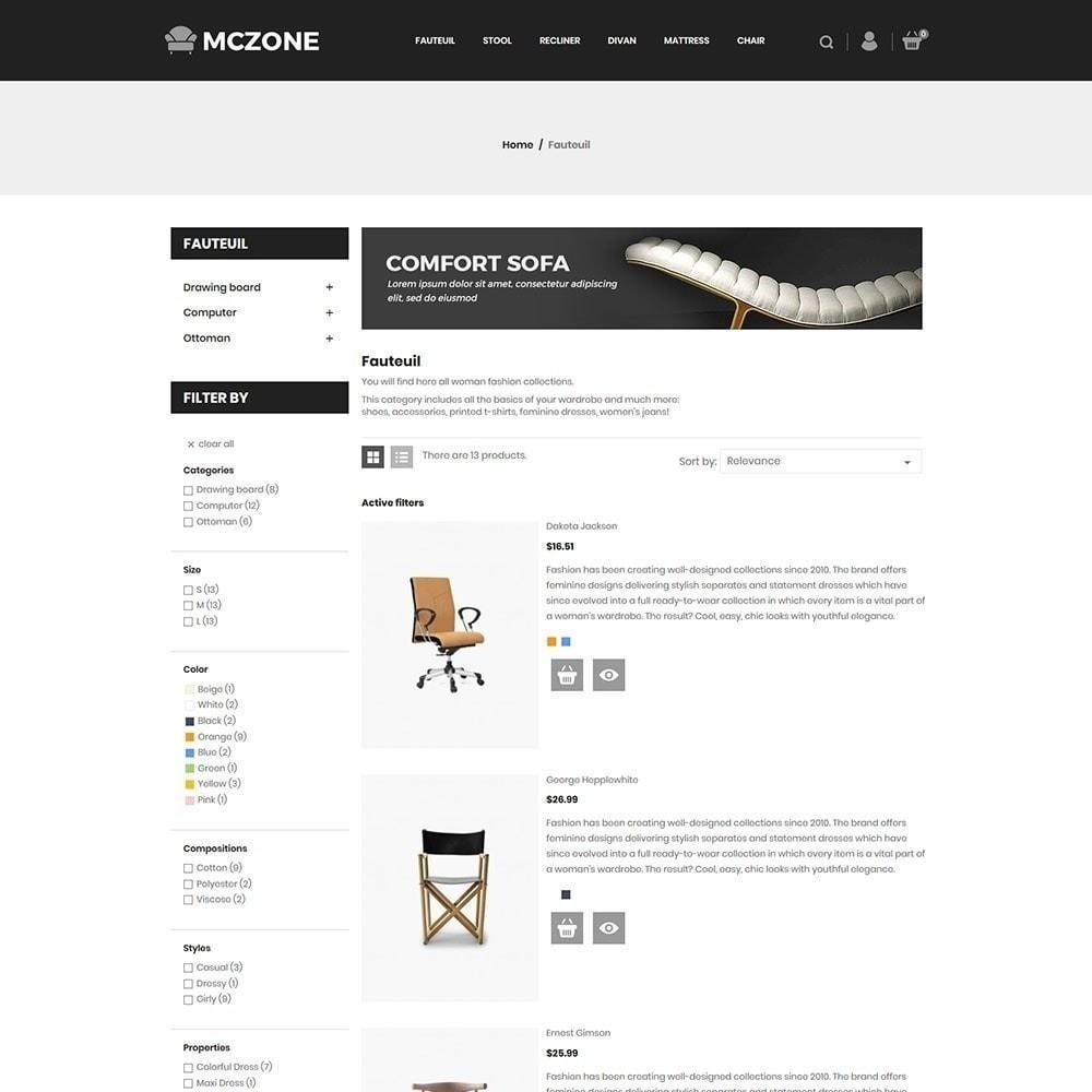 theme - Arte e Cultura - Loja de Móveis MacZone - 6