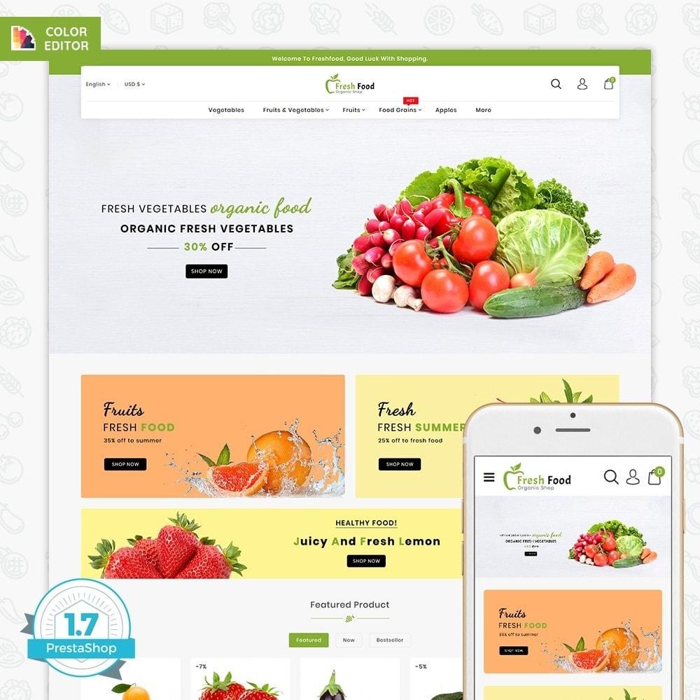 theme - Food & Restaurant - Freshfood The Best Organic Food - 1