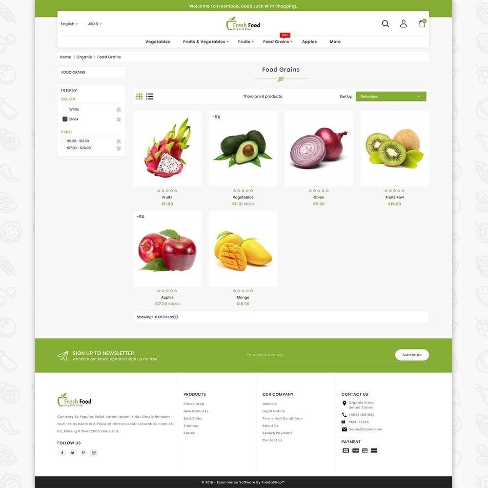 theme - Food & Restaurant - Freshfood The Best Organic Food - 3