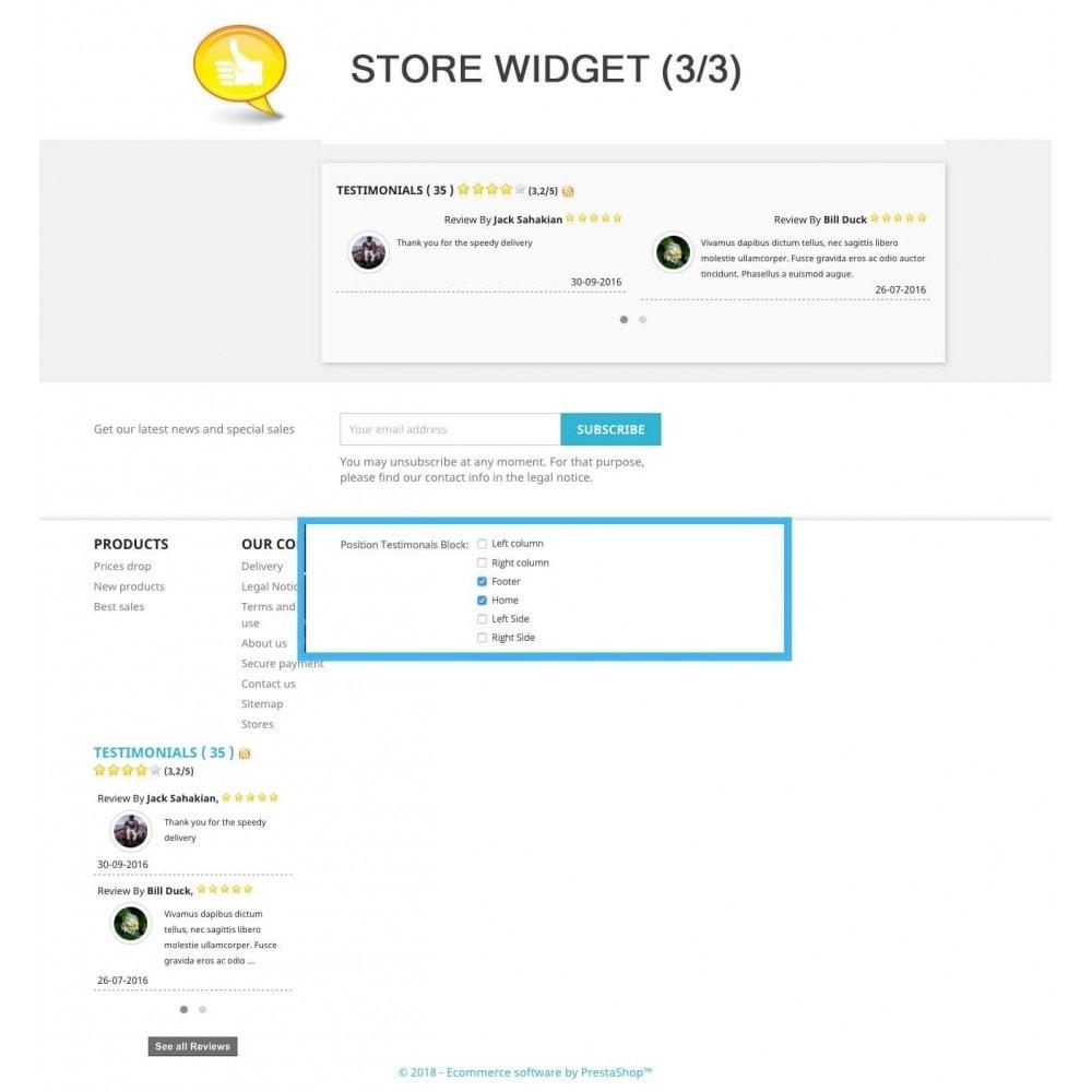 module - Comentarios de clientes - Shop Reviews + Avatars + Reminder + Rich Snippets - 9