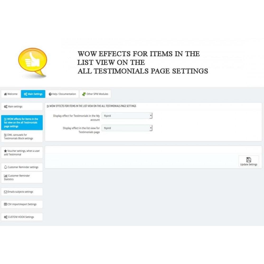 module - Comentarios de clientes - Shop Reviews + Avatars + Reminder + Rich Snippets - 11