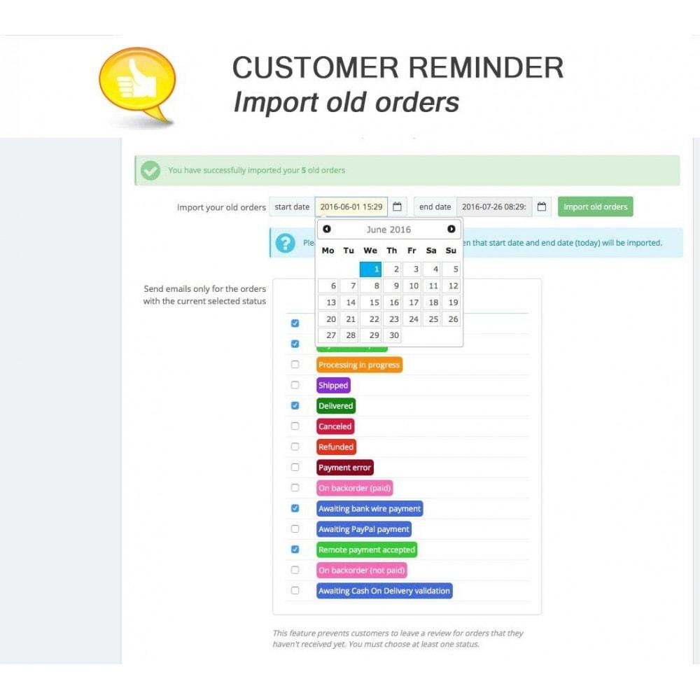 module - Comentarios de clientes - Shop Reviews + Avatars + Reminder + Rich Snippets - 16