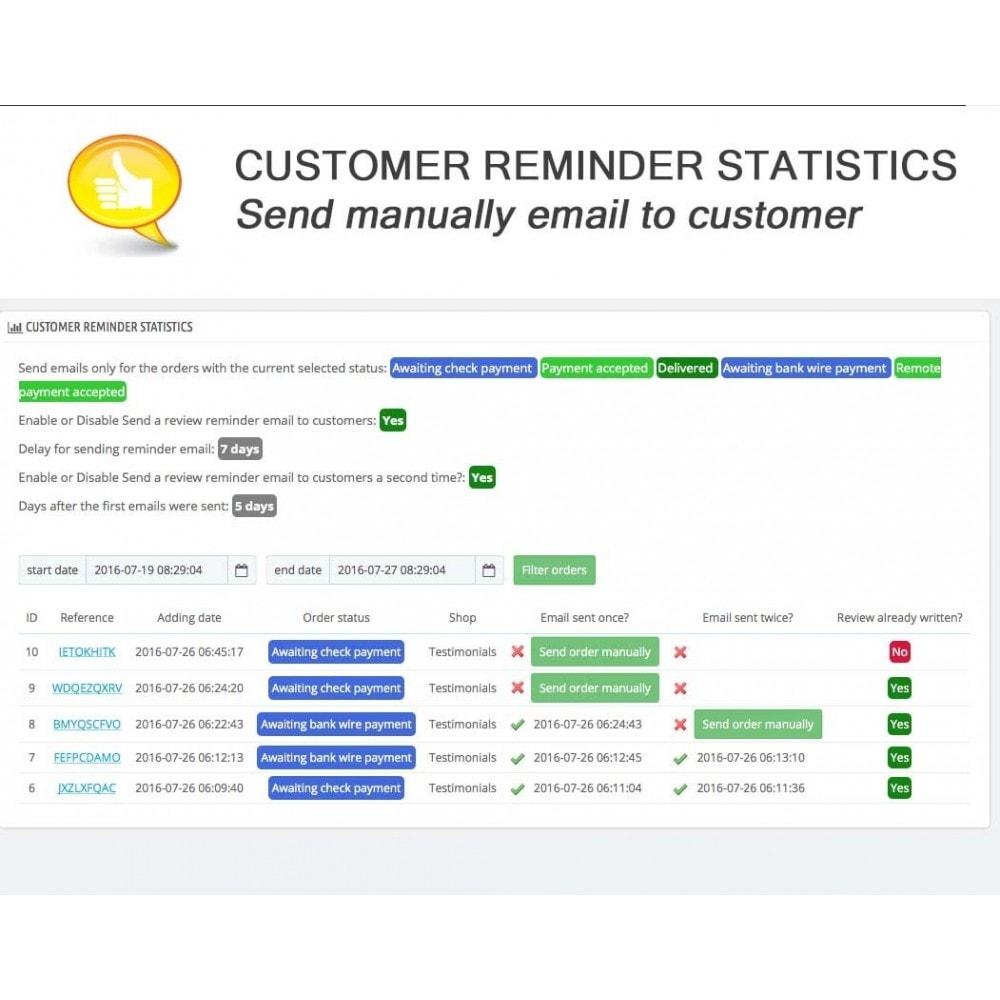 module - Opinie klientów - Shop Reviews + Avatars + Reminder + Rich Snippets - 17