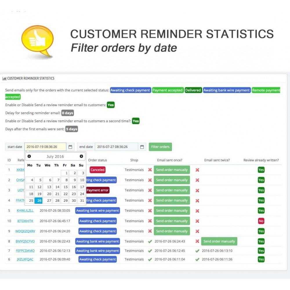 module - Comentarios de clientes - Shop Reviews + Avatars + Reminder + Rich Snippets - 18