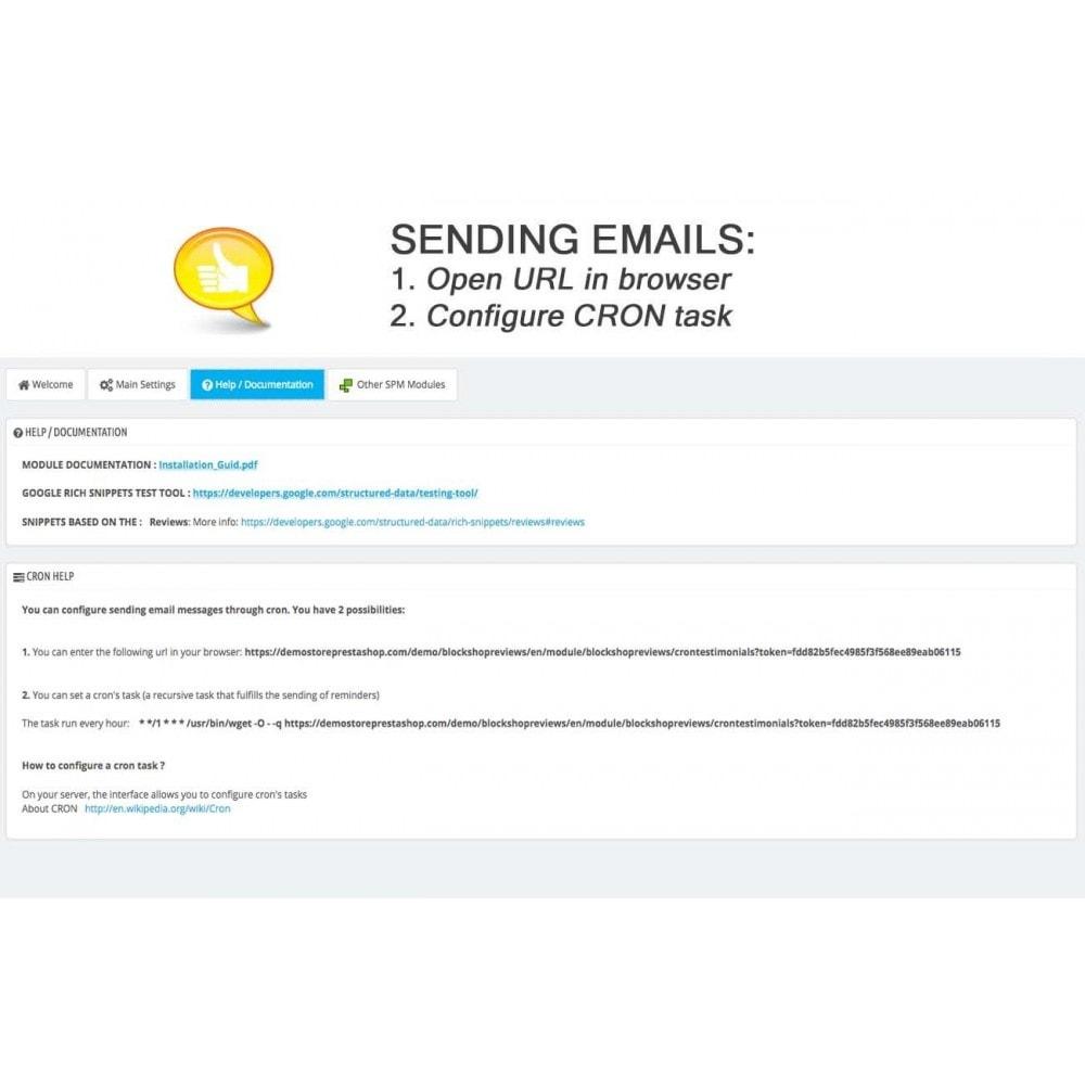 module - Comentarios de clientes - Shop Reviews + Avatars + Reminder + Rich Snippets - 19