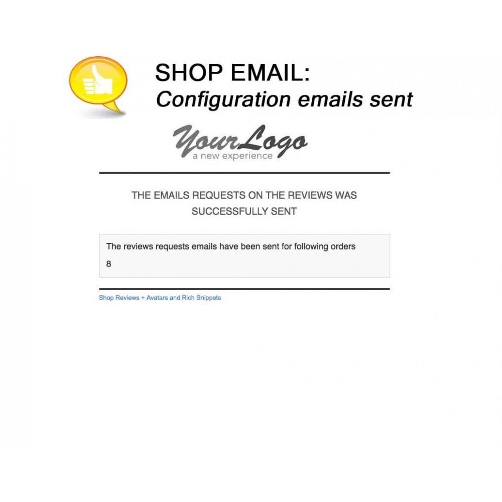 module - Comentarios de clientes - Shop Reviews + Avatars + Reminder + Rich Snippets - 20