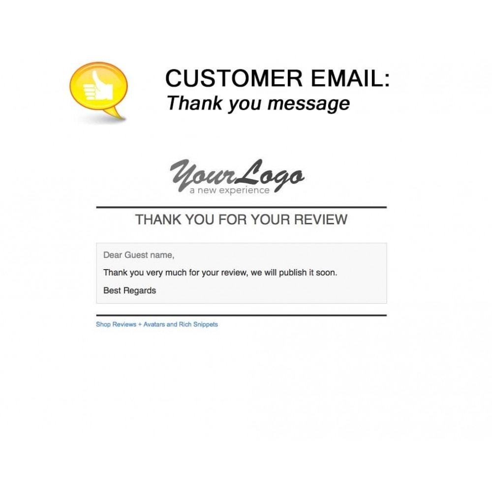 module - Comentarios de clientes - Shop Reviews + Avatars + Reminder + Rich Snippets - 22