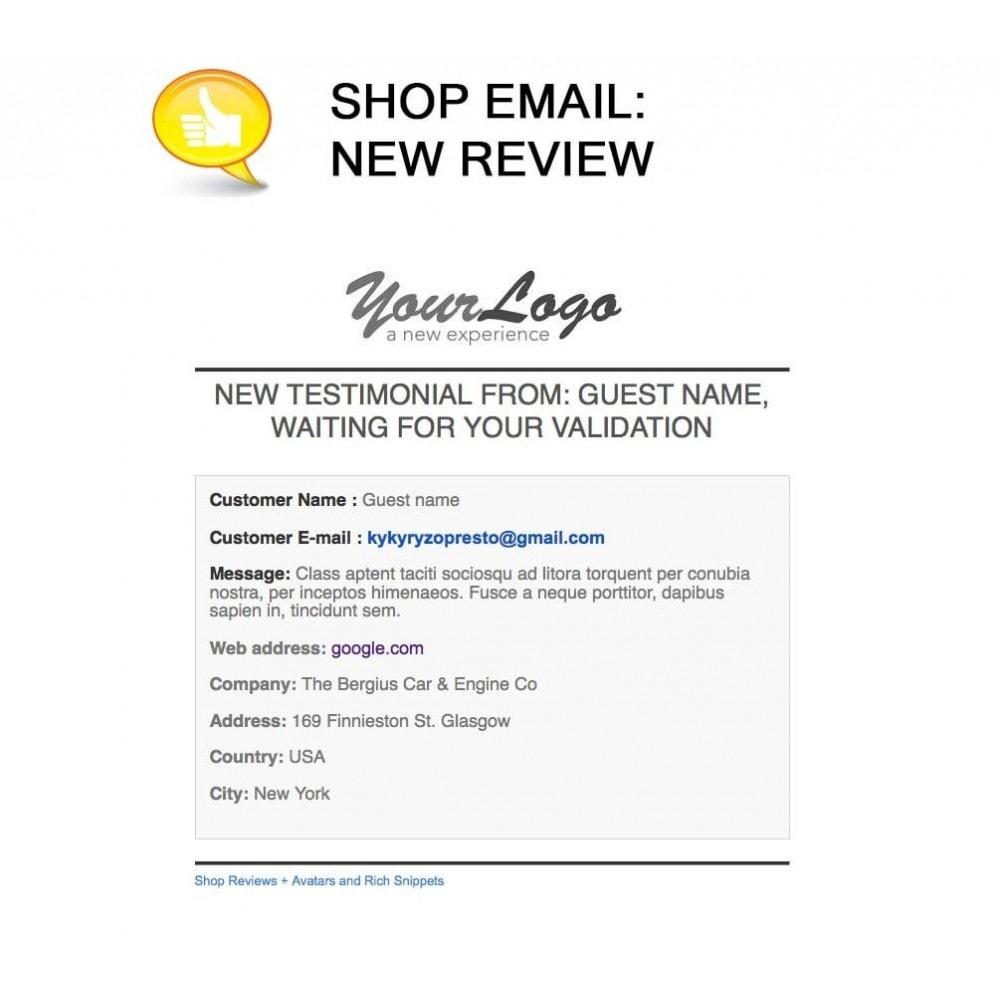 module - Opinie klientów - Shop Reviews + Avatars + Reminder + Rich Snippets - 23