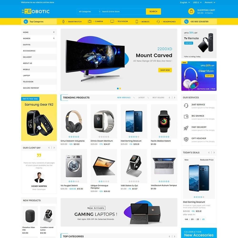 theme - Elektronica & High Tech - Robotic Electronics Store - 2