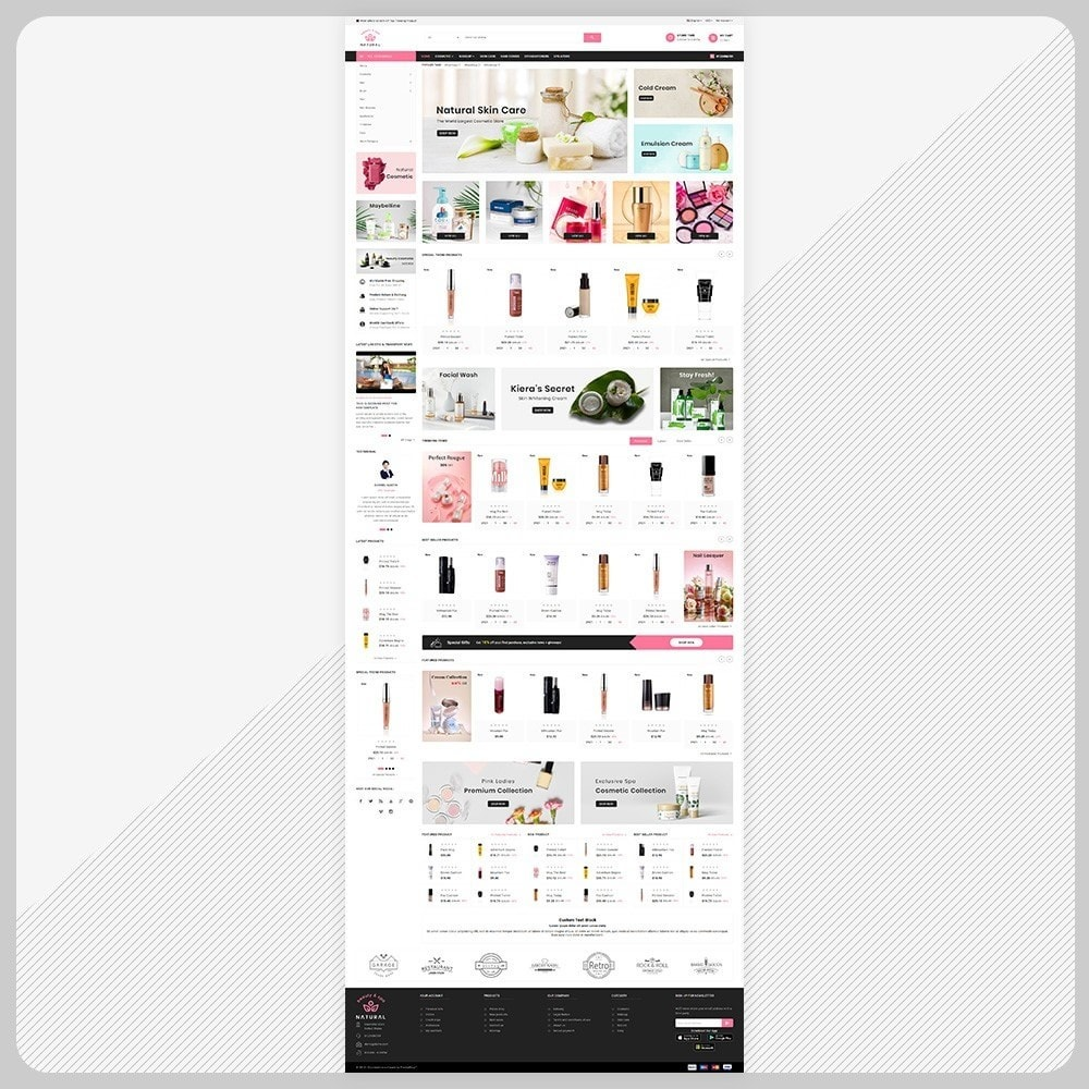 theme - Health & Beauty - Natural - Natural Cosmetic Super Store - 2