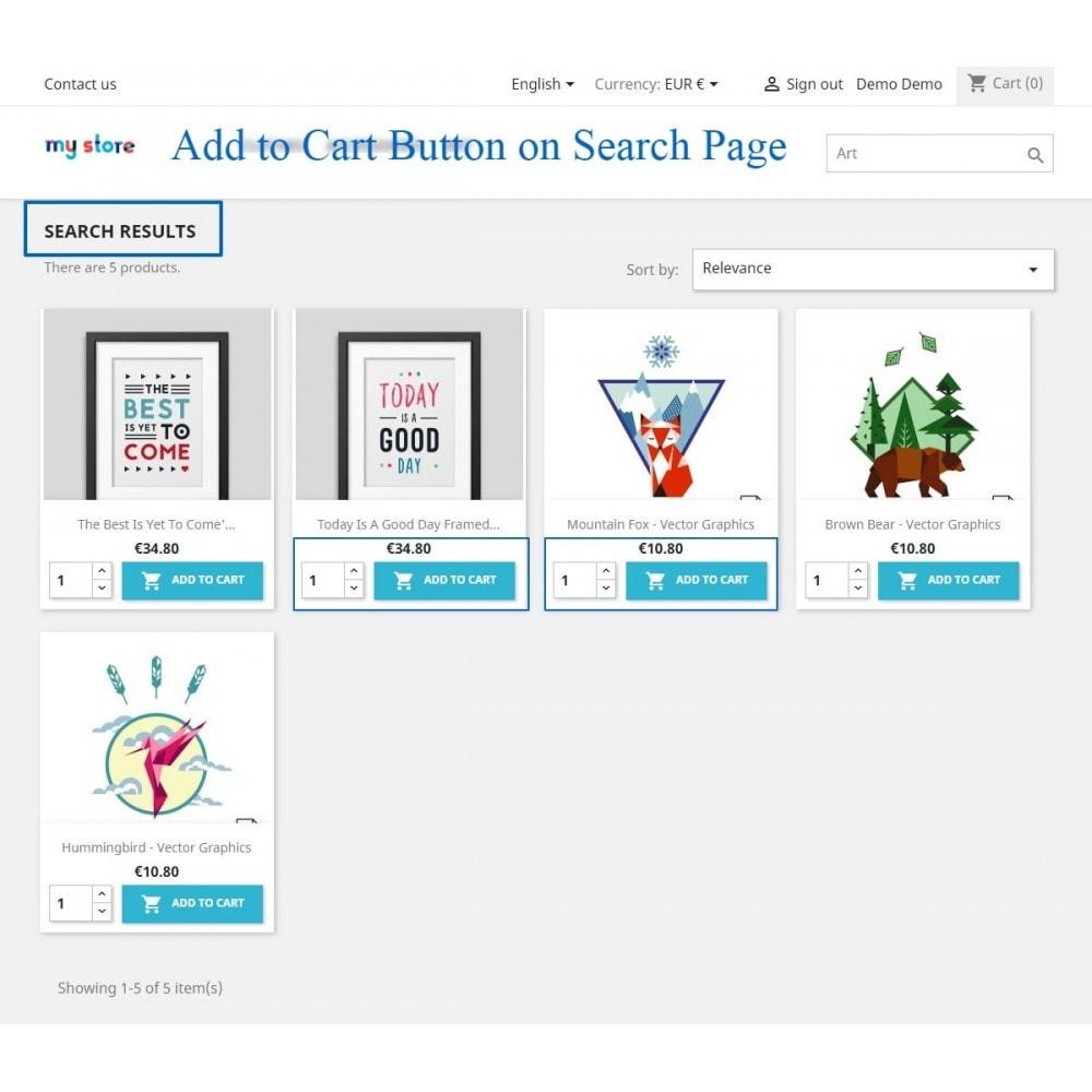 module - Pегистрации и оформления заказа - Show add to cart button product list / category page - 5
