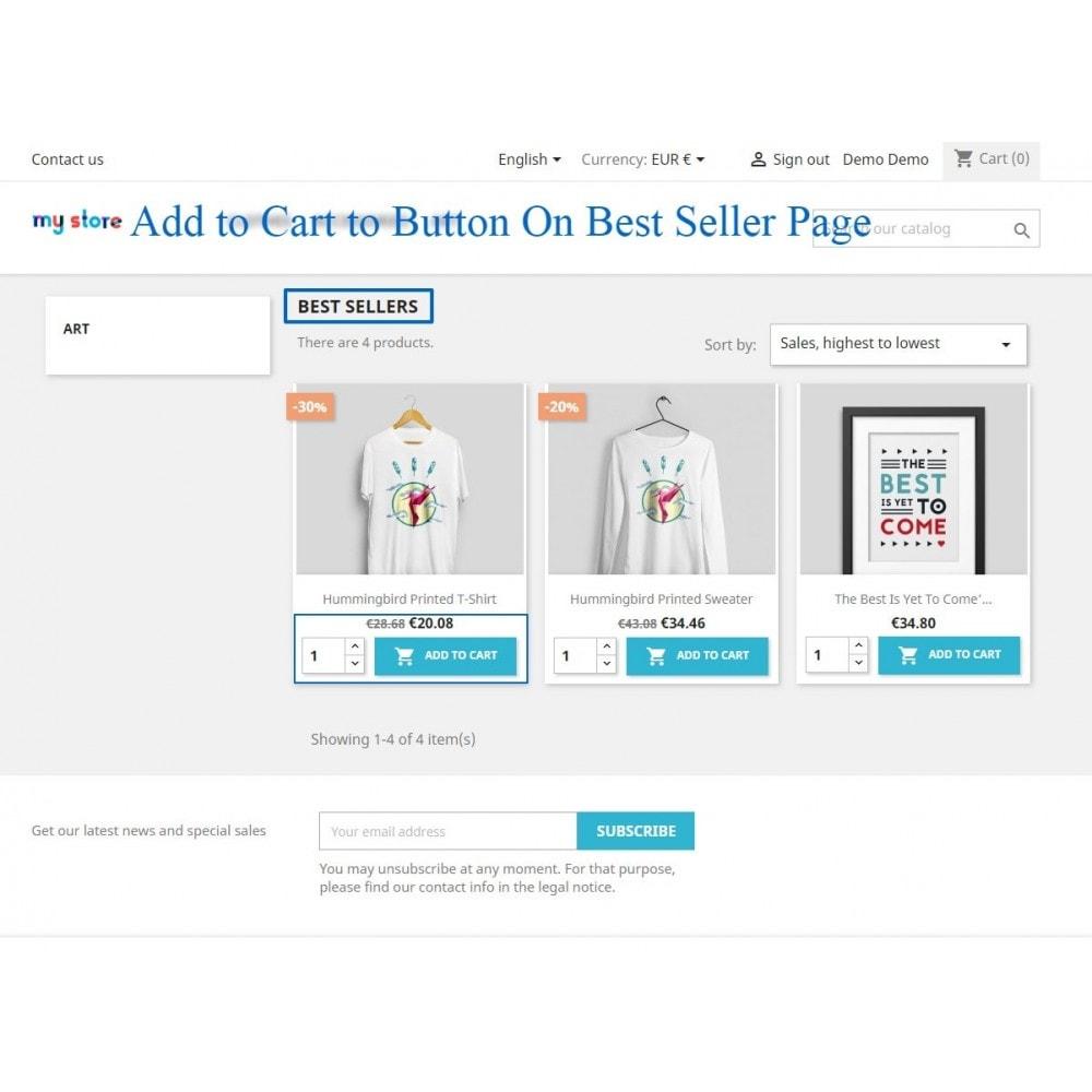 module - Pегистрации и оформления заказа - Show add to cart button product list / category page - 7