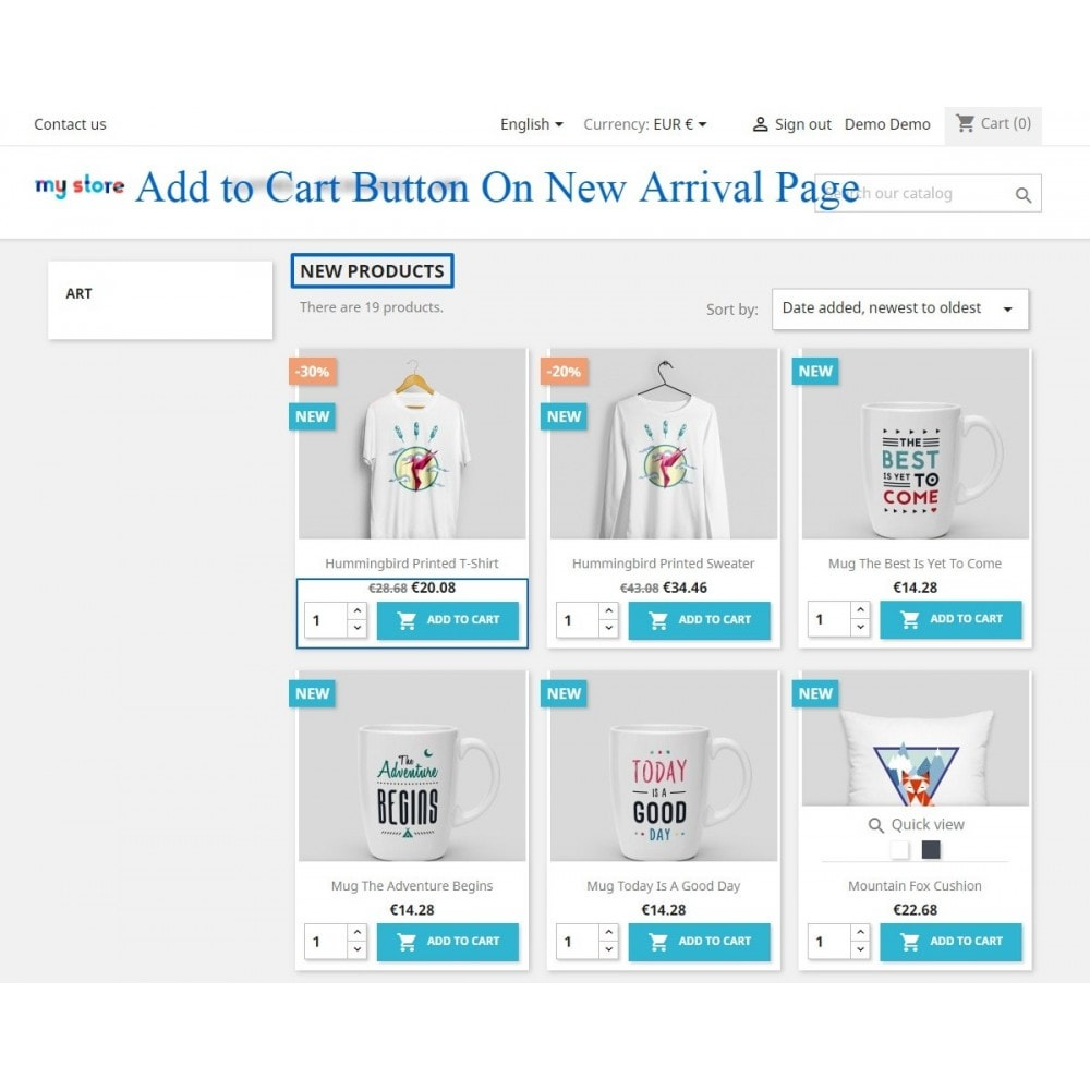 module - Pегистрации и оформления заказа - Show add to cart button product list / category page - 8