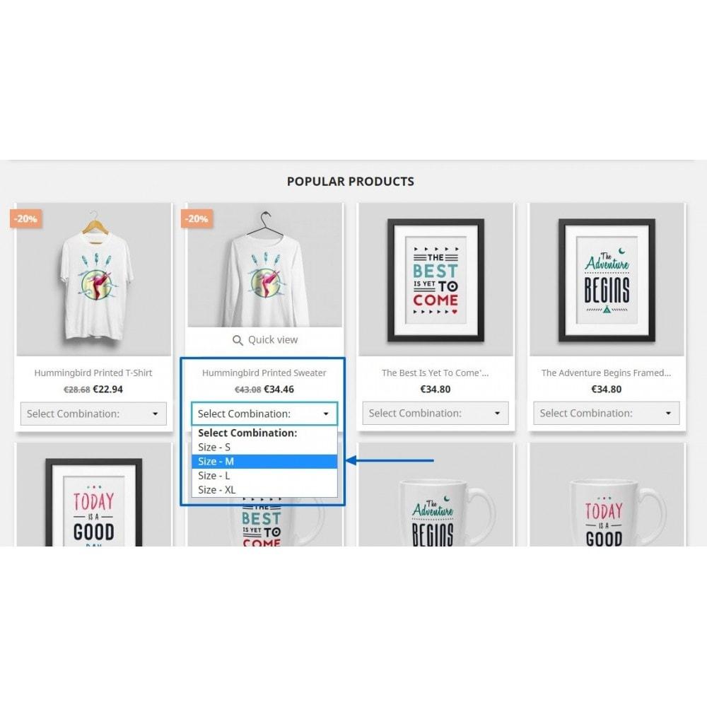 module - Déclinaisons & Personnalisation de produits - Show Product Combination - 5