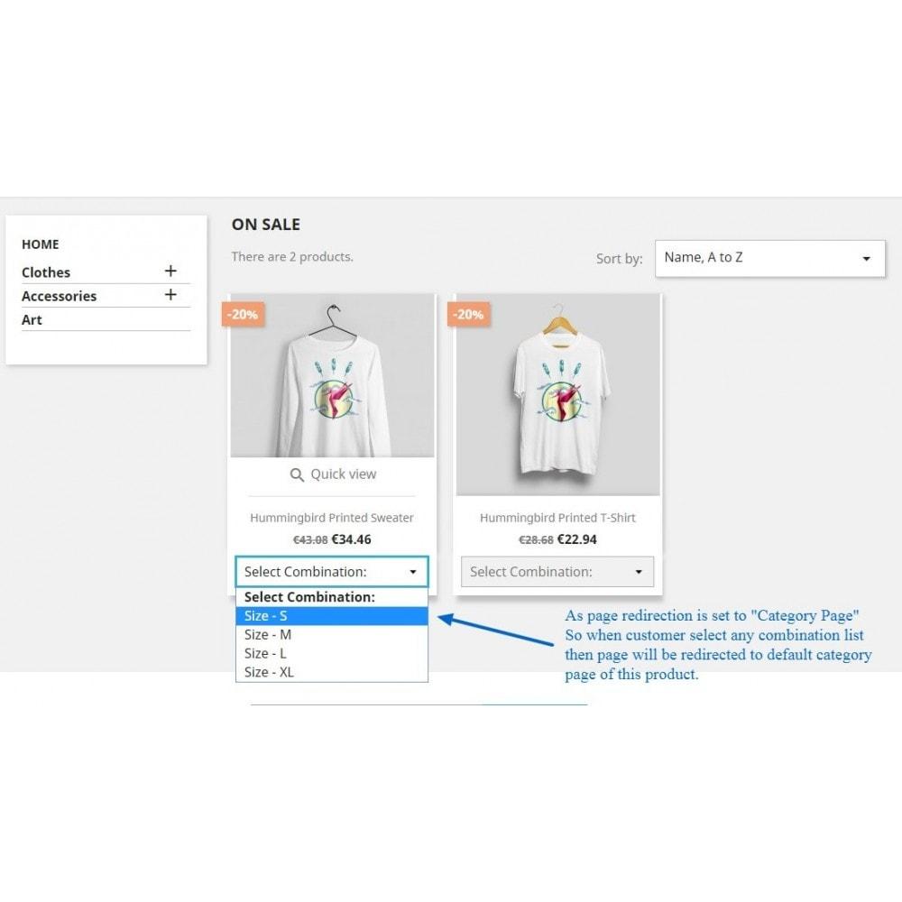 module - Déclinaisons & Personnalisation de produits - Show Product Combination - 8