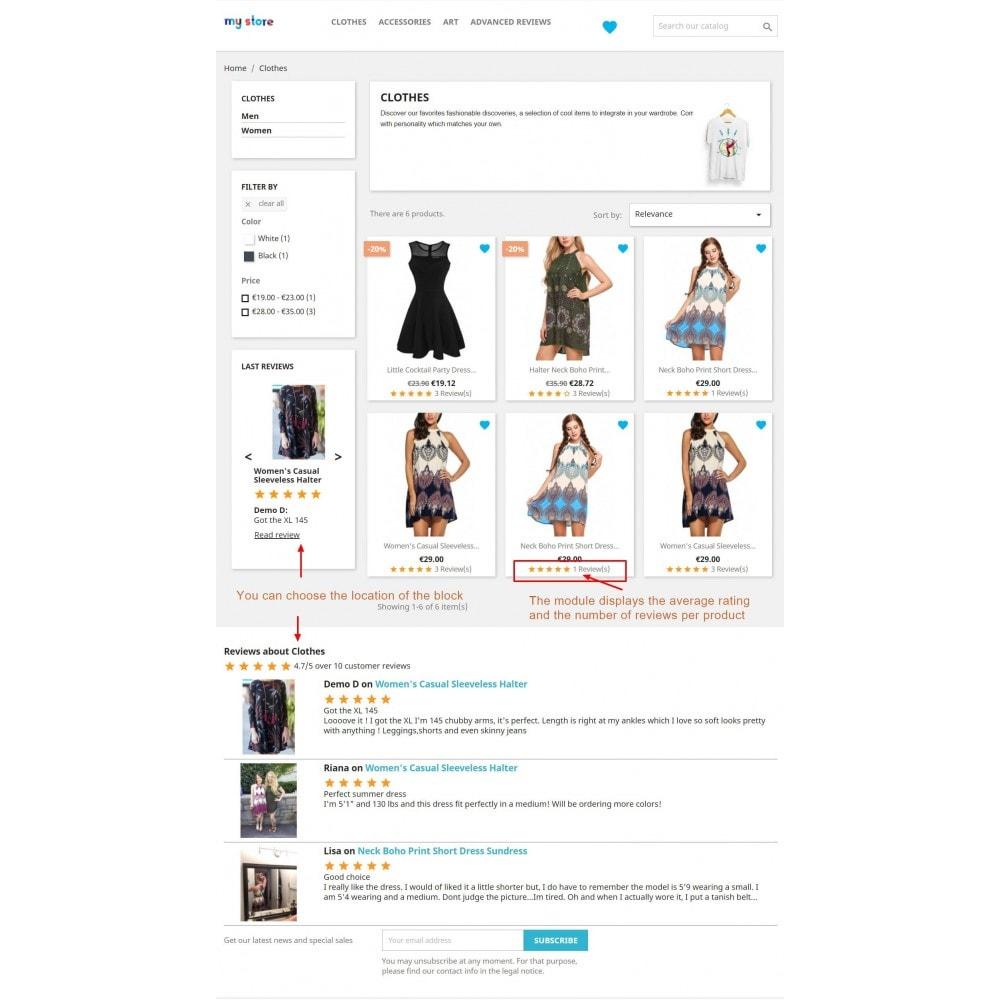 module - Customer Reviews - Advanced Reviews: Photos, Reminder, Google Snippets - 5