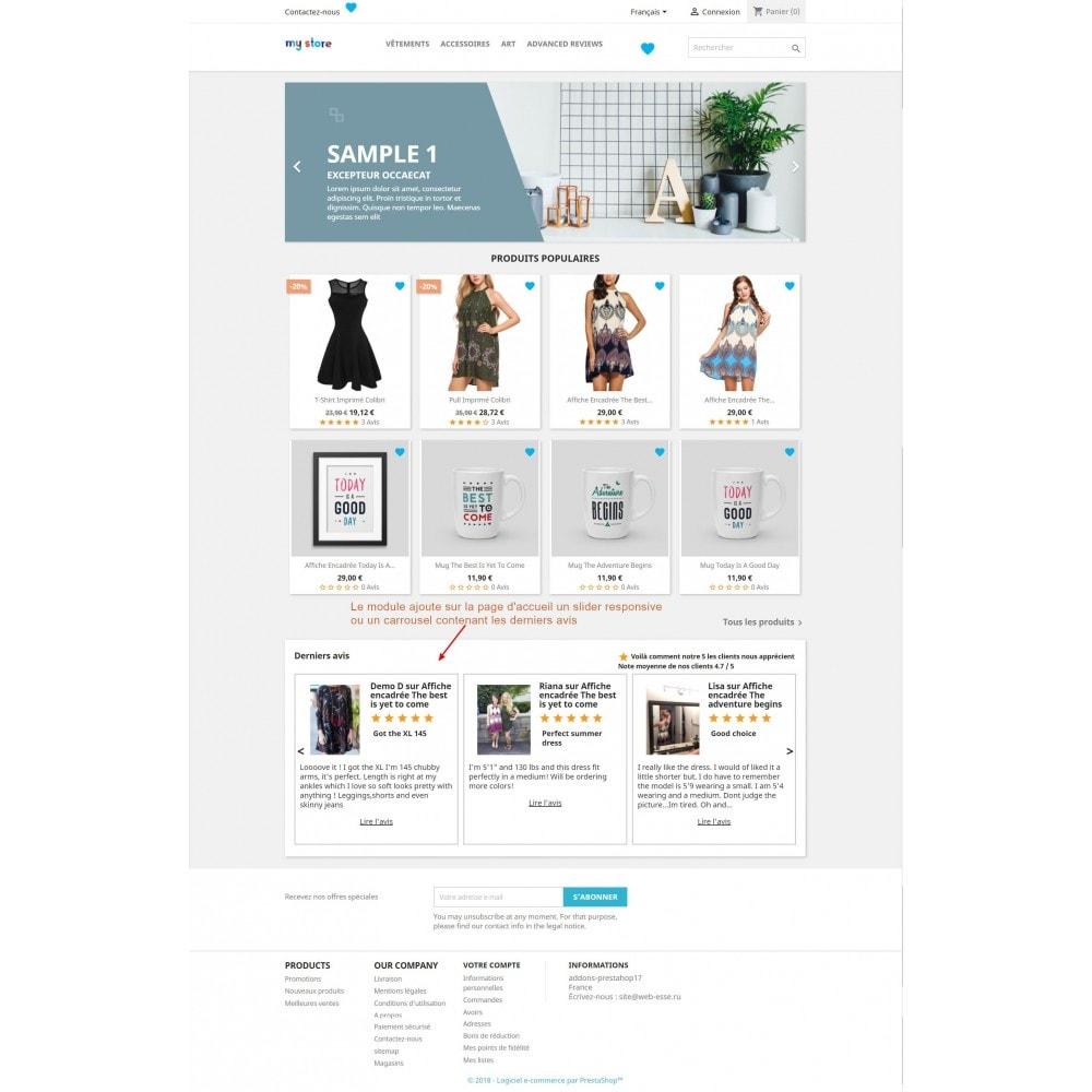 module - Avis clients - Commentaires avancés avec photos + Google rich snippets - 5
