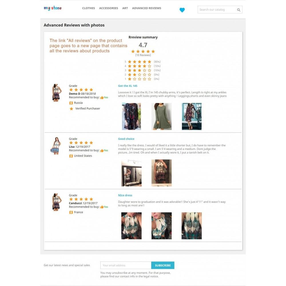 module - Customer Reviews - Advanced Reviews: Photos, Reminder, Google Snippets - 16
