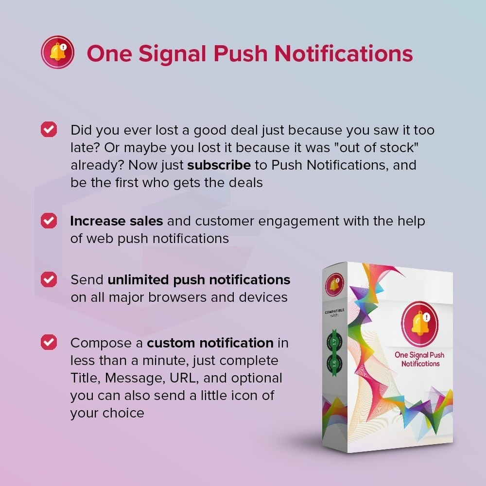 module - Email & Notifiche - One Signal Push Notifications - 1