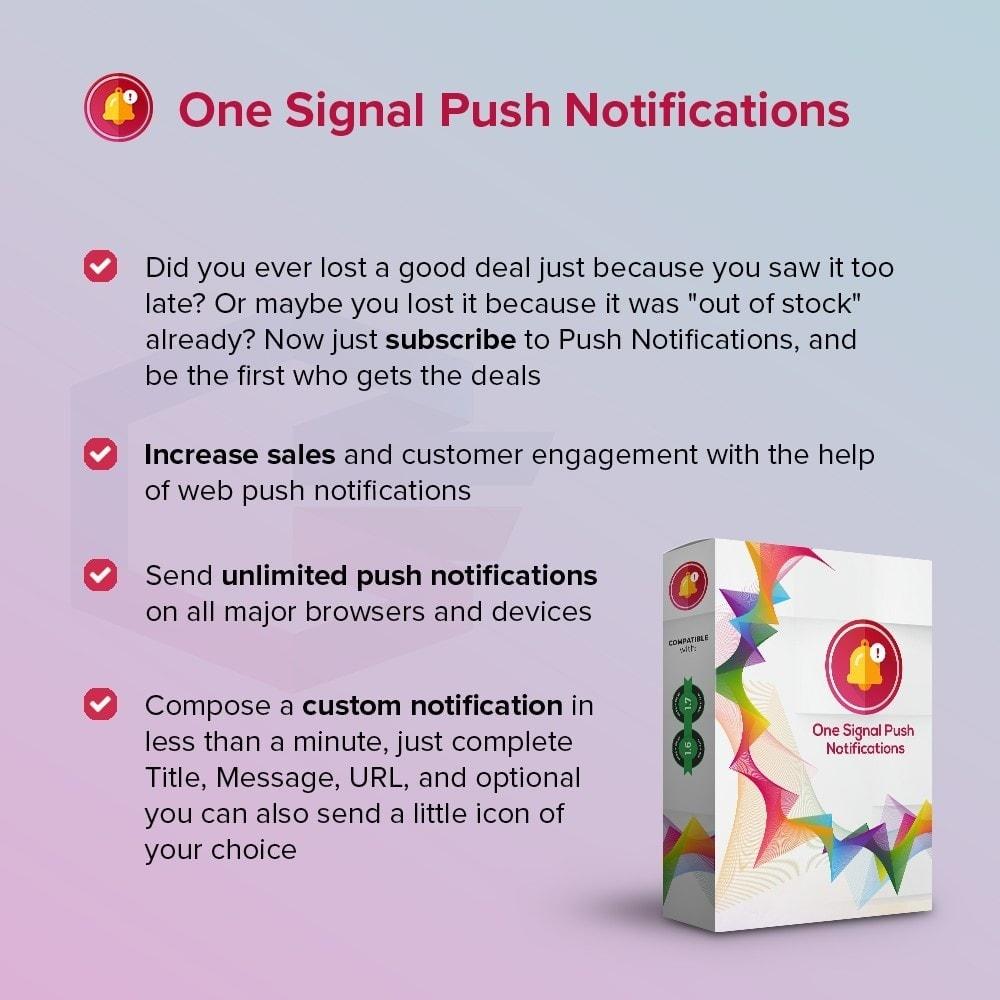 module - E-mails y Notificaciones - One Signal Push Notifications - 1