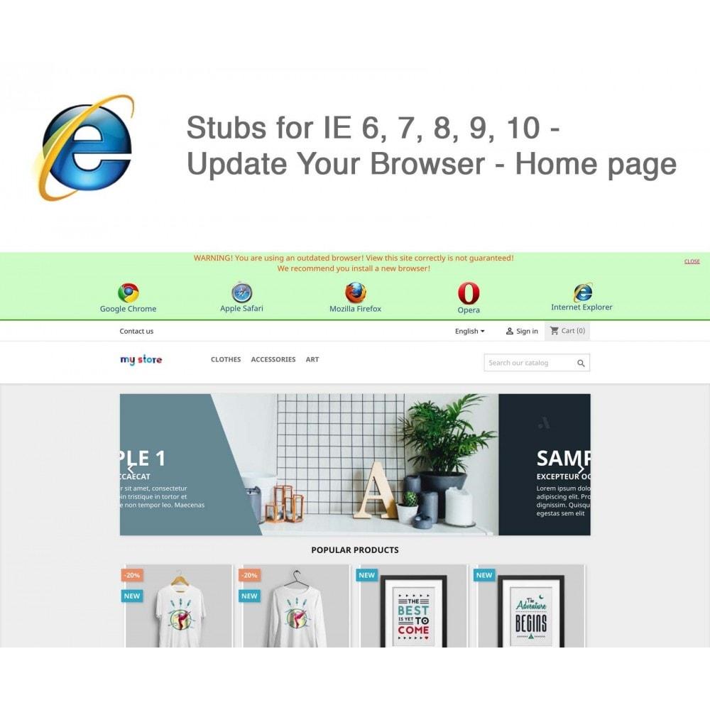 module - Миграции и сохранения данных - Stubs for IE 6,7,8,9,10 - Update Your Browser - 1