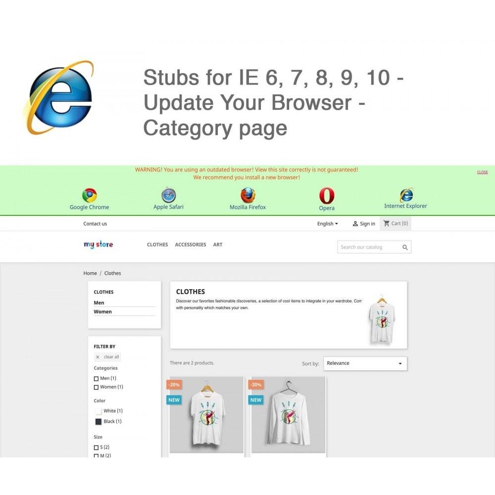 module - Миграции и сохранения данных - Stubs for IE 6,7,8,9,10 - Update Your Browser - 5