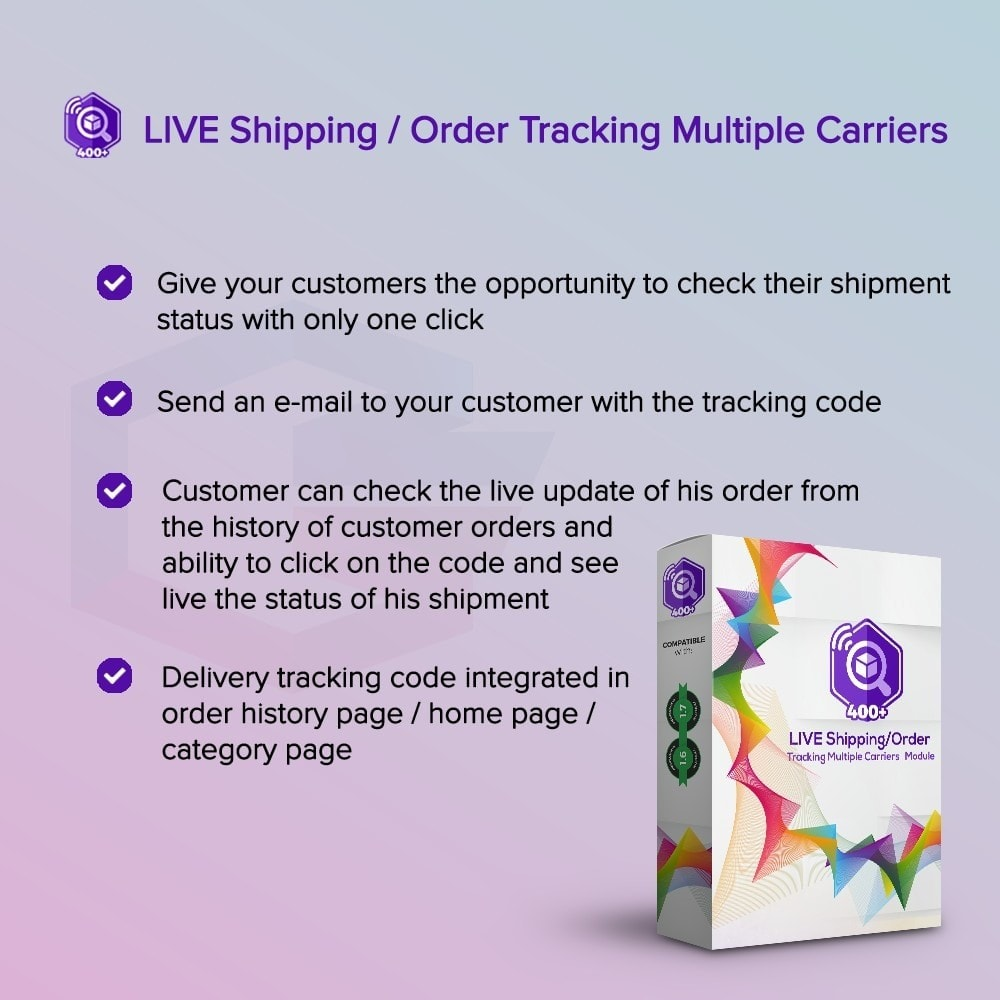 module - Delivery Tracking - LIVE Shipping/Order Tracking Multiple Carriers - 1