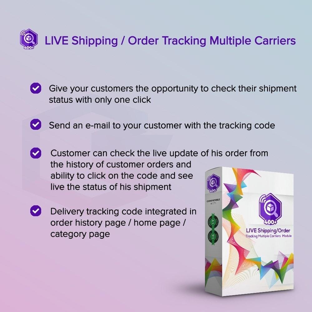 module - Seguimiento de la entrega - LIVE Shipping/Order Tracking Multiple Carriers - 1