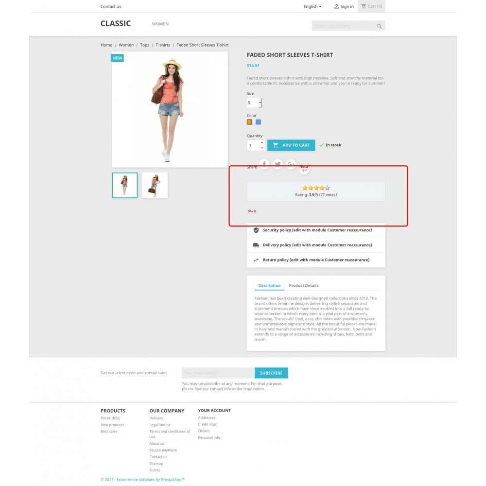 module - SEO (Referenciamento natural) - Product Rating + Google Snippets, Breadcrumb, Rich Pins - 1