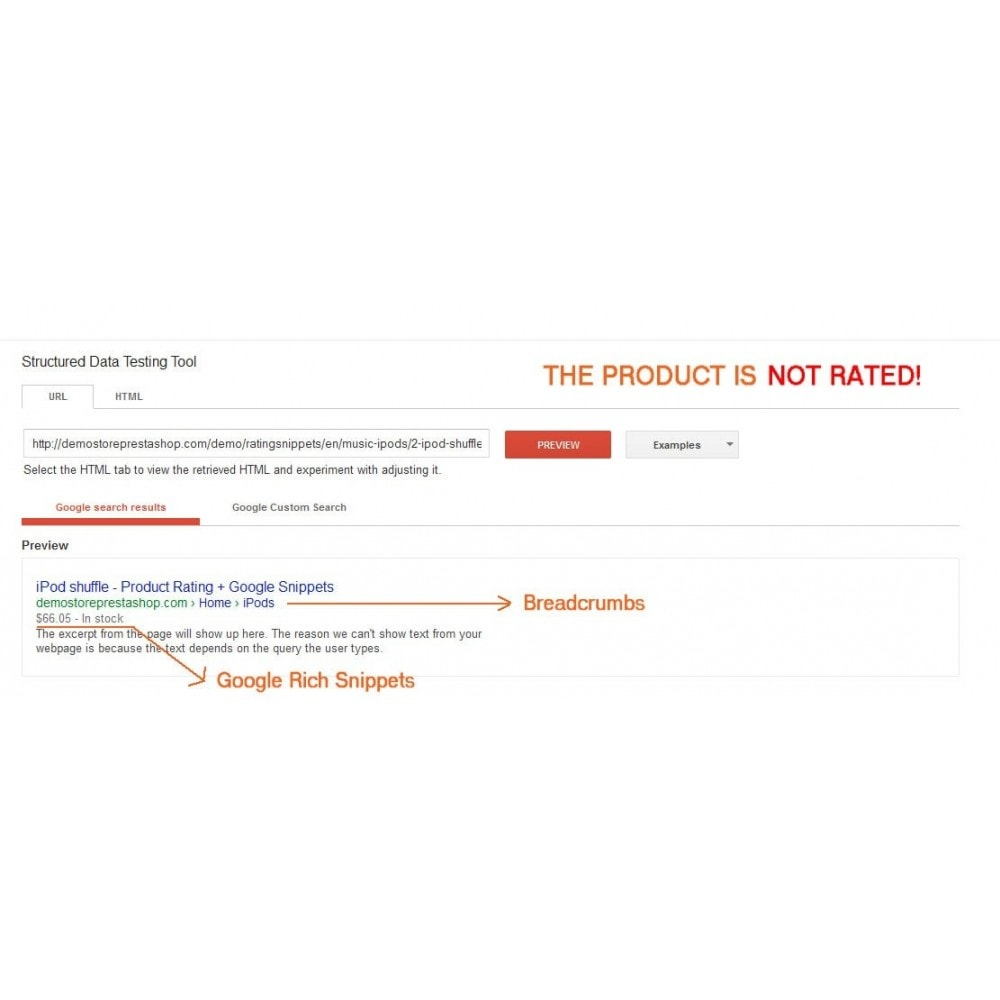 module - SEO (Referenciamento natural) - Product Rating + Google Snippets, Breadcrumb, Rich Pins - 3