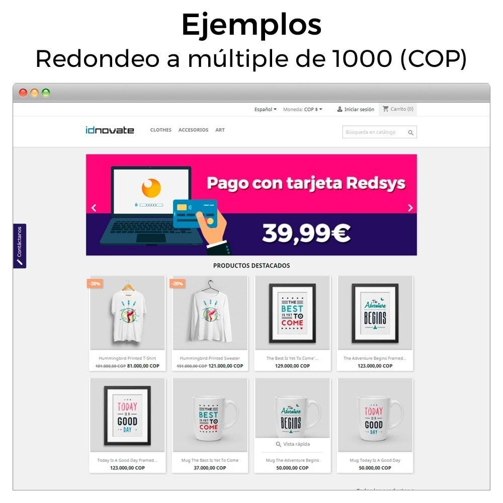 module - Gestión de Precios - Redondear precios (5ct, 10ct, .99, .95, Suizo, etc...) - 12