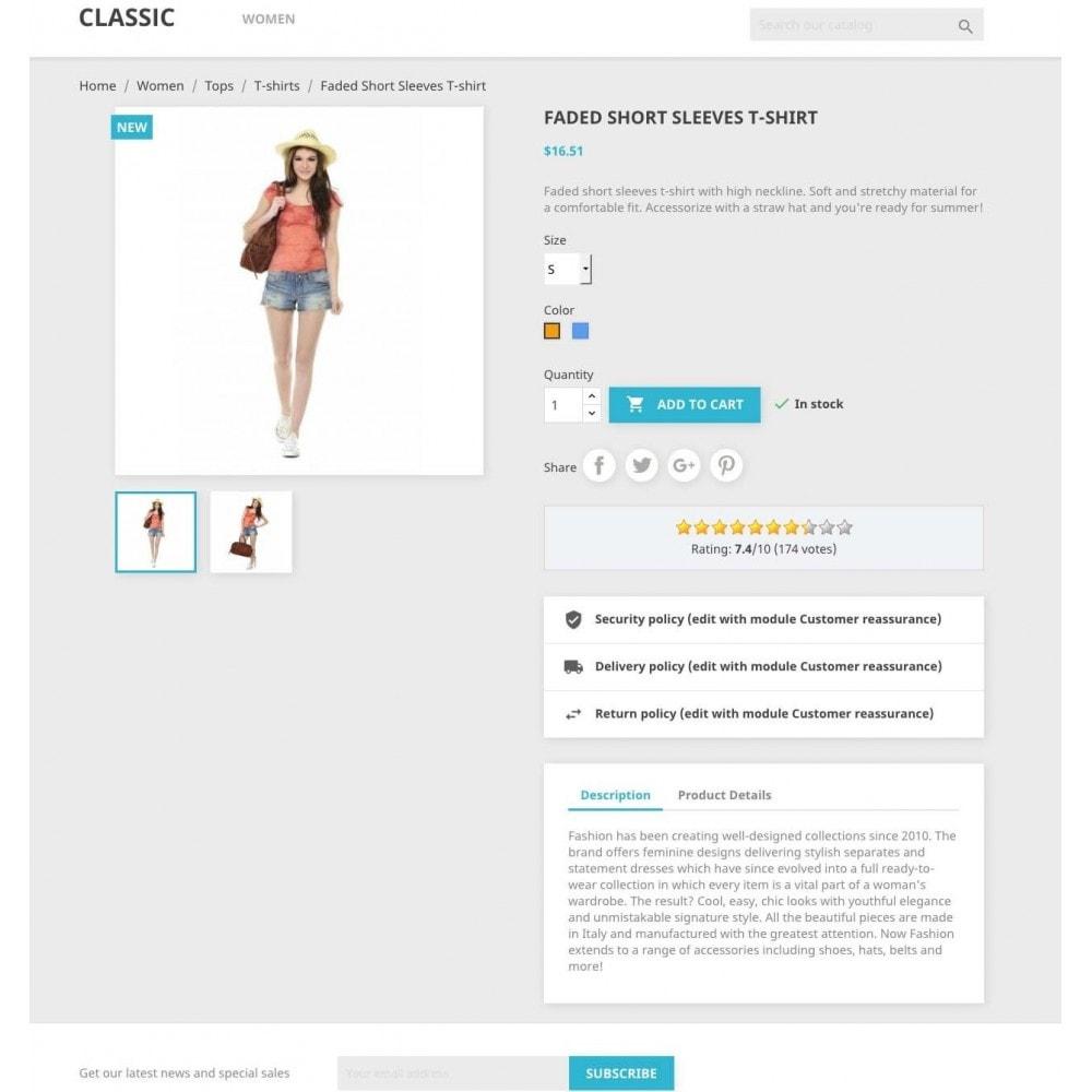 module - Opiniões de clientes - Product ratings - 1
