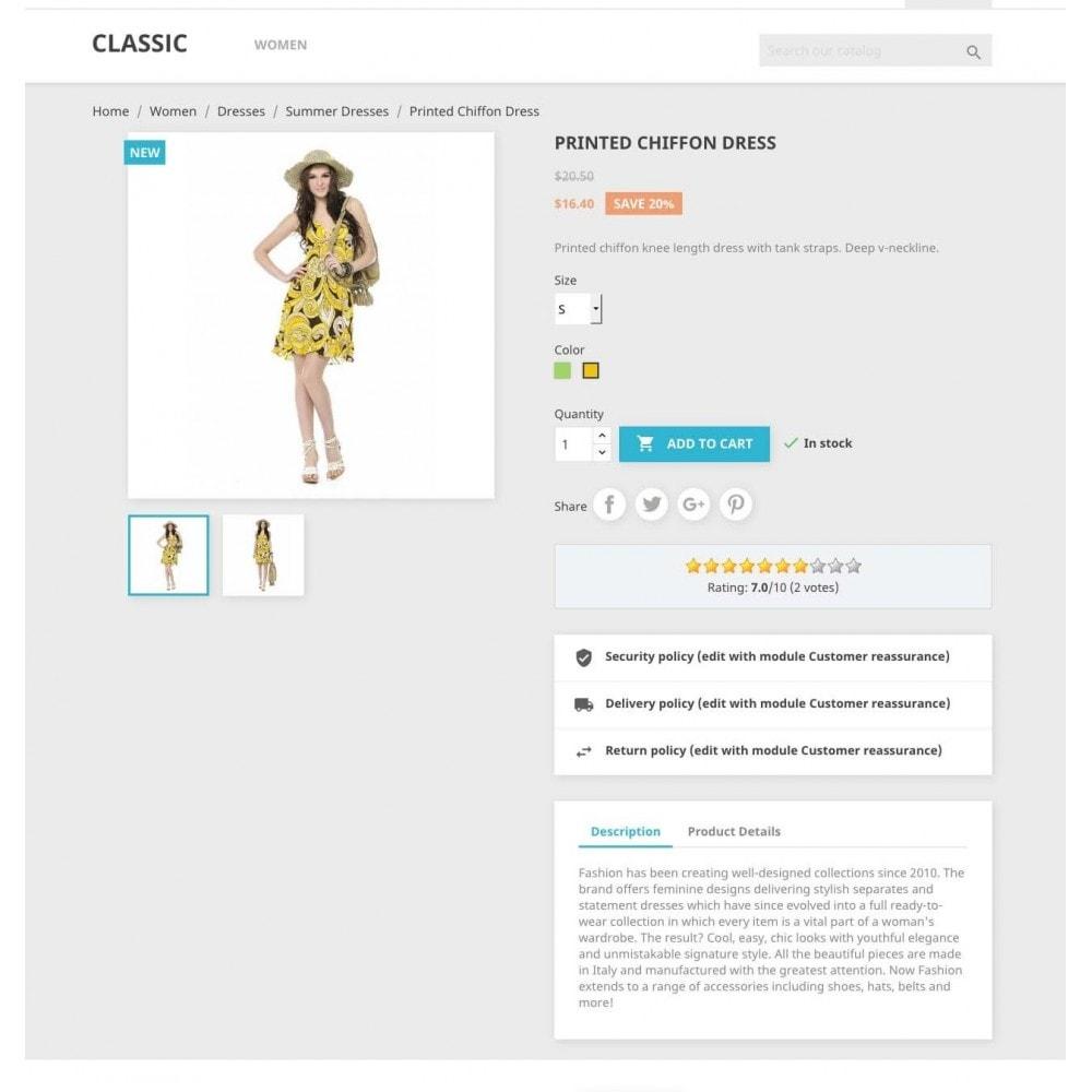 module - Opiniões de clientes - Product ratings - 2