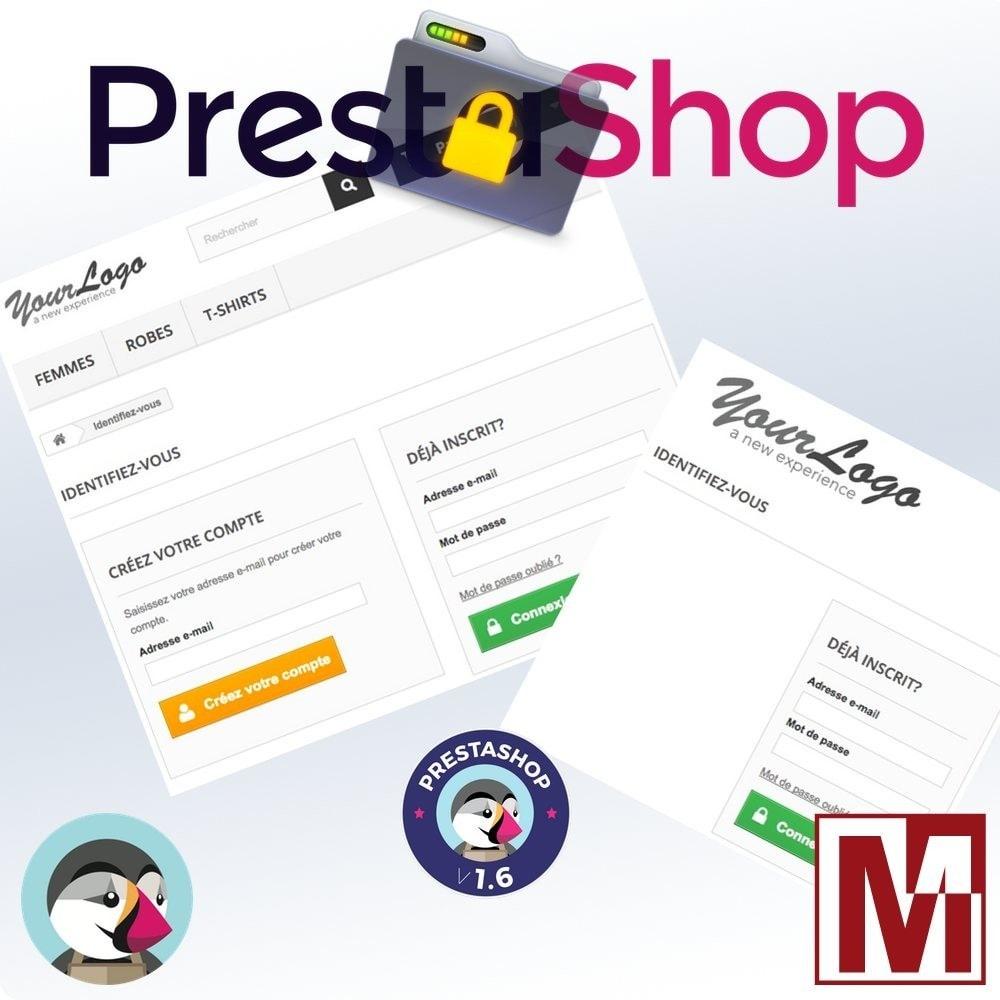 module - Sécurité & Accès - B2B Privatisez votre boutique - 3
