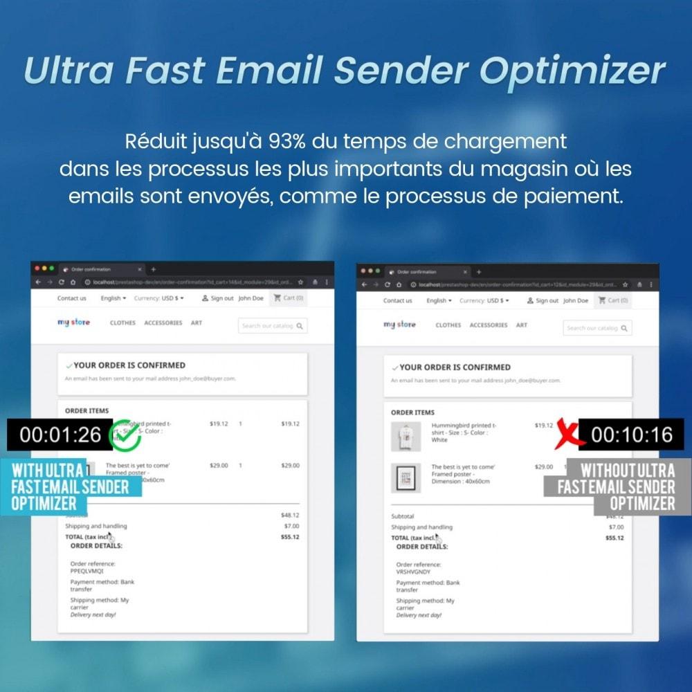 module - E-mails & Notifications - Optimiseur Ultra Rapide D'expéditeur D'email - 2