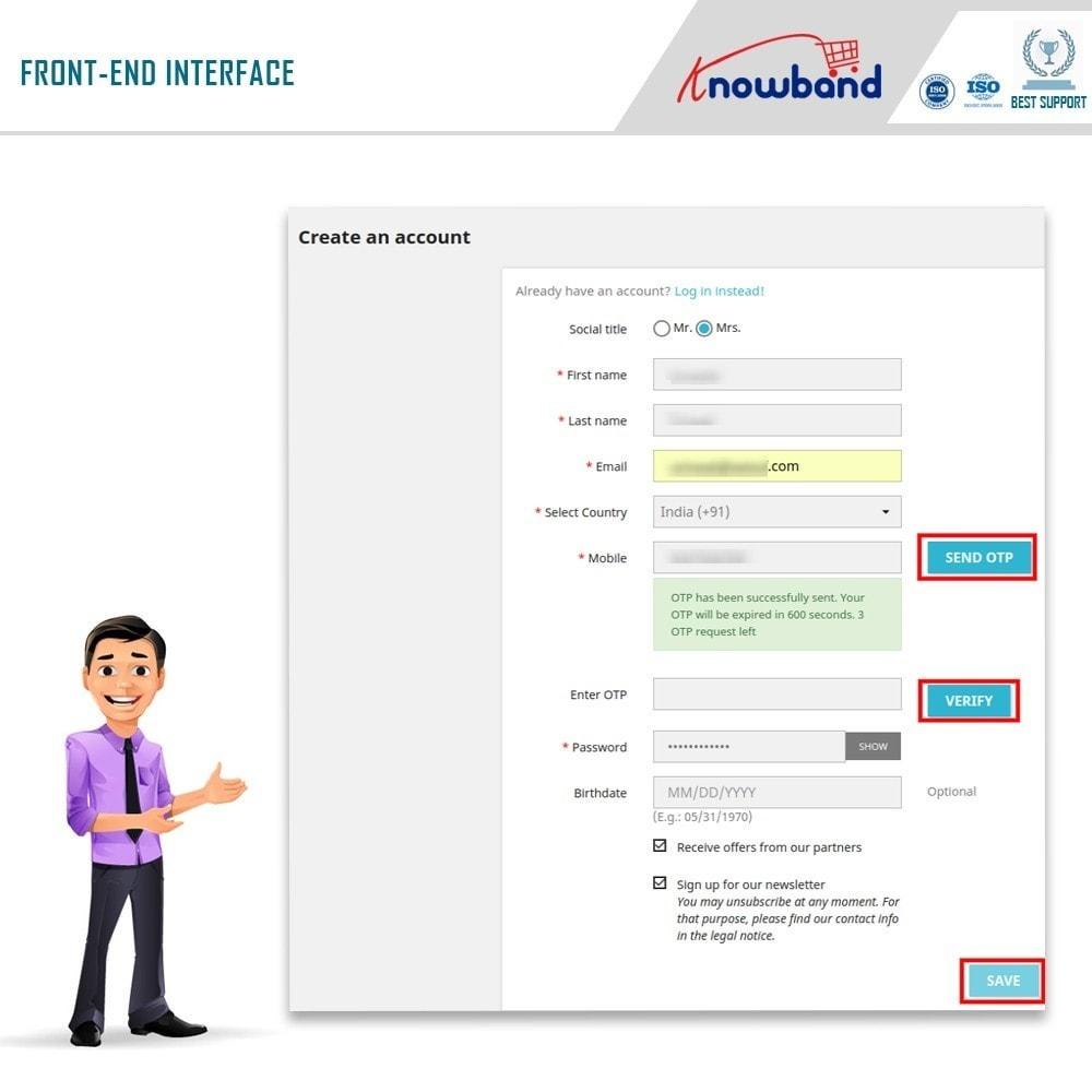 module - Social Login & Connect - Knowband - Mobile Login - 2