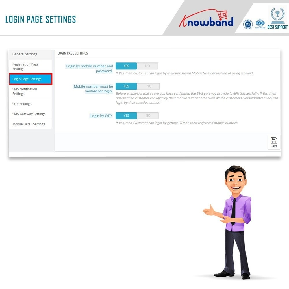 module - Social Login & Connect - Knowband - Mobile Login - 6